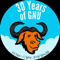 [Celebrate 30 years of GNU!]