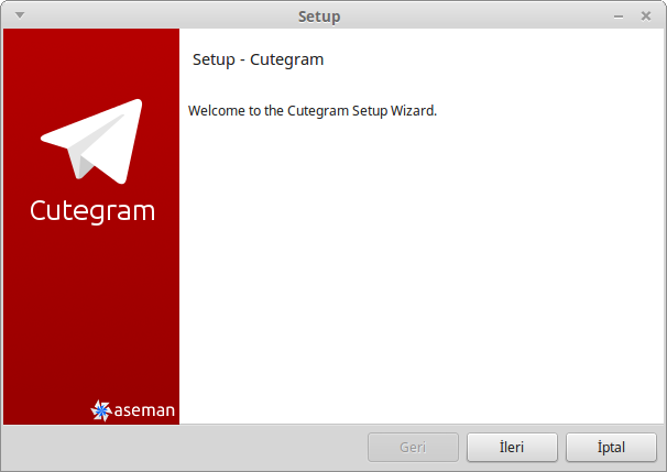 Cutegram-setup
